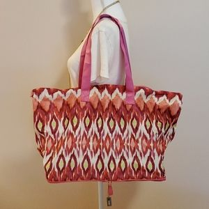 Chico's expandable tote